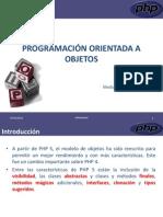 Programacion Orientada Objetos PHP II