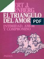 Sternberg Robert El Triangulo Del Amor PDF