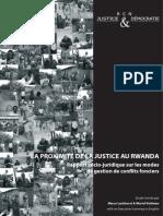 RCN J&D -  La proximité de la justice au Rwanda