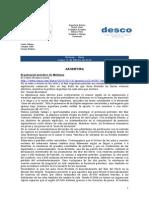 Noticias - News 15-Feb-10 RWI-DESCO