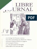 Libre Journal de la France Courtoise N°097