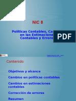 NIC+8+PRESENTACION