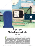 Preparing an Effective Engagement Letter White October2012