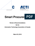 ITAC Smart Procurement March 30 2015