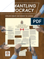"""Dismantling Democracy"