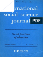 International Social Science Journal Vol. XIX, No. 3, 1967