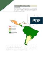 Situacion Hídrica en America Latina
