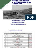 Clase8-ProcesamientoMinerales