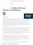 What Brill's 'Bitter Pill' Gets Wrong on Obamacare