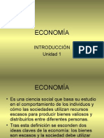 Cocepto d Economia