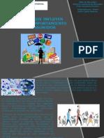 Factores Que Influyen en El Comportamiento del consumidor.