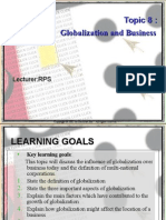 Globalization and Bussiness