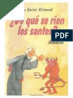 De Que Se Rien Los Santos (Lia Carini Alimandi)