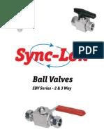 Synclok Ball Valve