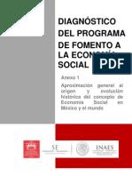 Concepto Economia Social Diagnostico Inaes