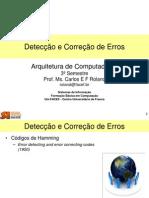 AOC - Correção e Detecção Erros Hamming