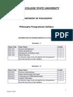 Philosophy PGSyllabus CCSU July28