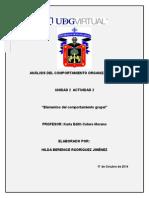 Análisis Del Comportamiento Organizacional_Unidad 2_Actividad de Aprendizaje 2_Hilda