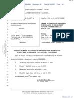 Taylor, et al v. Westly - Document No. 32