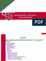 Unidad 1. Maquinaria y Equipos en la Industra Alimentaria.ppt