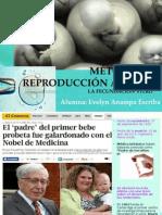 La Fecundación in-Vitro(FIV)