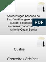 Análise Gerencial de Custos - Bornia.pps