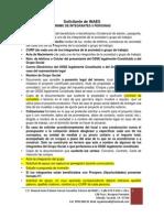 Requisitos Para Los Proyectos INAES 2015