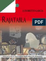 Rajatabla. Luis Britto García