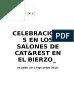 Propuestas Menus Eventos Pequeños 2012-2013