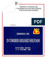 Congreso Geologico de Bolivia