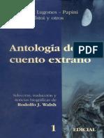 Antologia Del Cuento Extrano