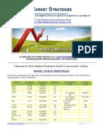High Return Market Strategies