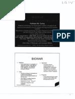 CMU BioWar Presentation