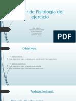 Taller de Fisiología Del Ejercicio