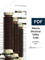 Alberta Electrical Utility Code - 4rd Edition 2013