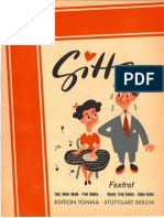 FRED OLDÄRP - EDDIE ROTHE - GITTA - 1950 - SWING - SHEET MUSIC