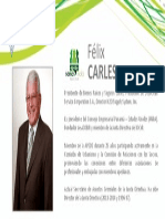 Perfil Carles Félix - Nómina Verde 2015