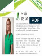 Perfil De Sanctis Giulia - Nómina Verde 2015