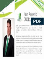 Perfil Ducruet Juan Antonio - Nómina Verde 2015