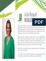 Perfil Robleda Julia Raquel - Nómin Verde 2015