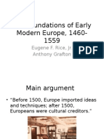 the foundations of early modern europe 1460-1559