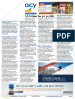 Pharmacy Daily for Wed 17 Jun 2015 - MedAdvisor to go public, Chemotherapy changes detailed, PSA, NAPSA seal the deal, Health & Beauty and much more