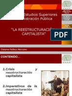 La Reestructuracion Capitalista