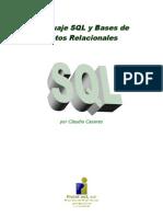 Lenguaje SQL y Bases de Datos Relacionales (Claudio Casares)