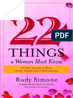 22 Things a Woman Must Know if She Loves a - Rudy Simone