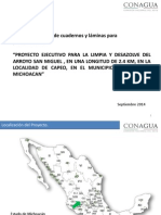 Alternativas Del Proyecto Arroyo Capeo 2015