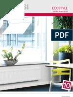 Biasi Eco Style Flat Panel Radiators Brochure