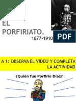 El Porfiriato y La Revolución  Mexicana