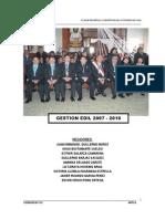 PLAN Plan de Desarrollo Concertado La-Oroya