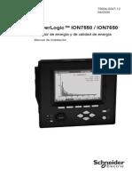 Manual Instalación_PowerLogic ION7550&7650